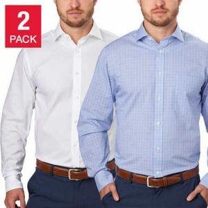 Tommy Hilfiger® Men's 2-Pack Dress Shirt Large
